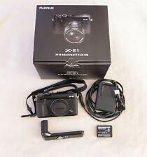 Fujifilm X Series X-E1 16.3MP Digital SLR Camera - Black, Body + Grip