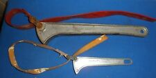 """Klein Tools Grip-It Strap Wrenches S6H + S12H  6"""" & 12""""  Made in USA"""