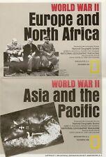 WORLD WAR 2 Maps Europe North Africa Asia Pacific Churchill Stalin Roosevelt