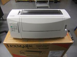 Lexmark 2480 Dot Matrix Forms Printer  Tractor Feed NIB   RS232 Serial available