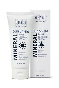 Obagi Sun Shield Mineral SPF 50 Sunscreen Lotion 3 oz