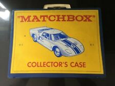New listing Very Nice! 1966 Vintage Lesney Matchbox Collector's Case # No 41 Carry Case