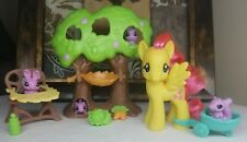 My Little Pony FiM G4 ~Fluttershy's Nursery Tree~ Accessories Playset Lot Pets