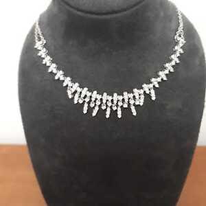 2.5ct Diamond 18ct White Gold necklace