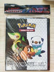 Ultra Pro 4-Pocket Portfolio Pokémon Black & White