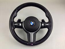 BMW F20 f30 1 3 M Sport Leder Lenkrad Schaltwipp Multi Airbag Steering wheel