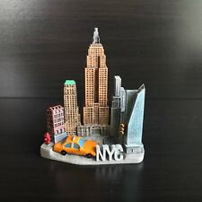 New York Travel Souvenir 3D Fridge Magnet Craft Gift, Empire State Building