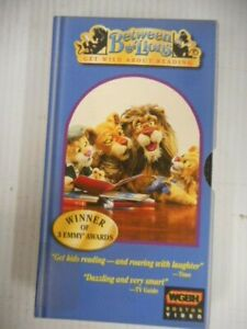 PBS Kids Between The Lions Be Bop VHS Starring Short O Sound Reading