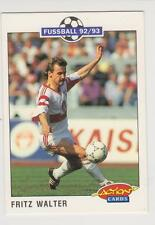 Panini Fussball 92-93 Action Cards #209 Fritz Walter VFB Stuttgart