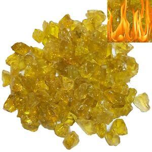 Firebrand Direct Golden Yellow Fire Glass 1kg (2.2lb) - Pits Gas Fires Burners