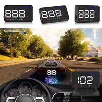 Car HUD Head Up Display OBD2 II GPS Fuel Over-speed Warning Speedometer System