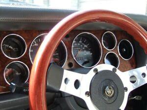 Ford Capri Mk3 Facelift    7- Teilig  Aluminium  Tachoringe / Tacho Ringe