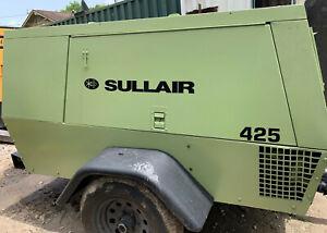 425cfm Sullair portable diesel air compressor