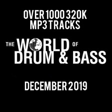 Drum & Bass December 2019 Collection: Over 1000 320K MP3 Tracks