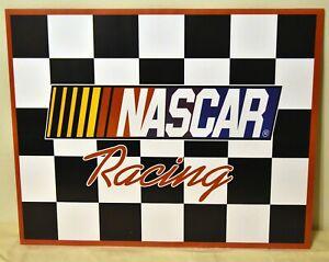 NASCAR Stock Car Racing Checkered Flag 16x20 Poster