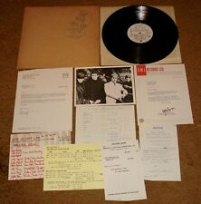 THE WHO LIVE AT LEEDS ORIGINAL DECCA 1970  VINYL LP COMPLETE WITH INSERTS