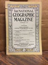 National Geographic February 1923 Issue - Volume XLIII Number Two (NG7)