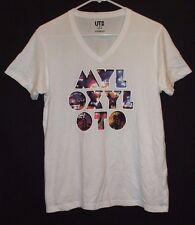 Coldplay Mylo Xyloto V-Neck T Shirt Size S Brian Eno Pop Rock Opera