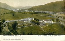 An Aerial View Of The Restigouche Salmon Club, Campbellton NB Canada 1937