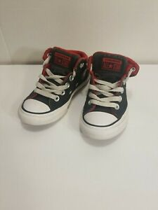 Toddler boys Converse high top tennis shoes  size 11us