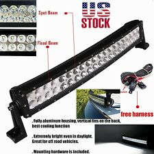"""20inch 120w Curved LED Work Light Bar for Truck SUV 4WD UTE Driving ATV Lamp 24"""""""
