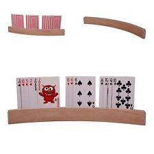 Kartenhalter aus Holz 35cm Spielkartenhalter für Kinder und Senioren