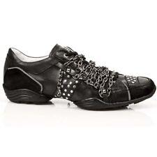 New Rock Shoes - Sneakers  M.8169-S1 Zwart Leer/Suède MAAT 43