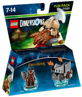 LEGO Dimensions Fun Pack Lord Of The Rings Gimli 71220 IT IMPORT LEGO