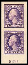 Momen: Us Stamps #484 Pair Mint Og Nh Pse Graded Cert Gem-100