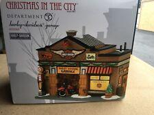 dept 56 christmas in the city buildings, Harley-Davidson Garage 4035565