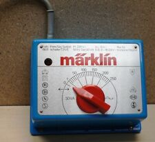 Märklin H0, Transformator / Trafo mit der Nr. 6631 mit 30 VA, blau