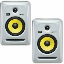 COPPIA Studio Monitor KRK ROKIT 6 RP6 G3 WHITE Deejay Producer Ableton Logic NEW