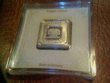 Geiger Edelmetalle AG999 Fine Solid Silver 1oz Cased Ingot - New & Unopened