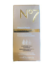 No7 Match Made Custom Blend Foundation Drops (cool Vanilla)