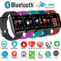 Waterproof 116 PLUS Smart Watch Bracelet D13 Heart Rate Monitor Blood Pressure