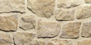 Naturstein Wandverblender Kalkstein IVANO GIALLO DI TRANI Wohnrausch Muster