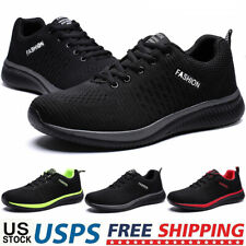 New listing Men's Athletic Running Shoes Outdoor Casual Sports Tennis Non-slip Gym Sneakers
