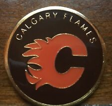 NHL CALGARY FLAMES COLLECTIBLE CHALLENGE COIN NEW