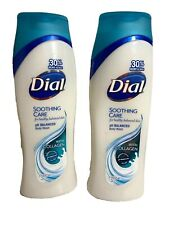 (2) Dial Nourishing Body Wash, Ph Balanced Soothing Care With Collagen 21 Oz