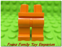 New LEGO Minifig Legs Plain Orange Male/Female Star Wars Ninjago City Body Part