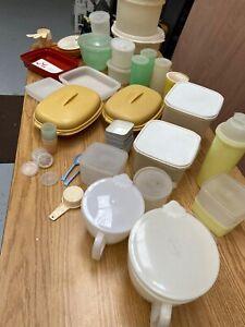 vintage tupperware job lot 4