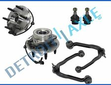 Chevy Tahoe GMC Yukon Control Arm Ball Joint Wheel Bearing & Hub 6-Bolt 4WD ABS