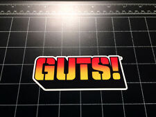 GUTS toys logo vinyl Decal / Sticker army men 80s toy 1980s figures GUTS!