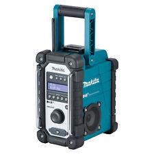 Makita Akku-Baustellenradio DMR110 7.2 V - 18 V mit DAB und DAB+ und FM