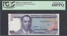 Philippine 100 Pesos ND1987-94 P172p Signature 10 Proof Specimen Uncirculated