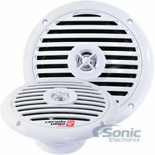 "Cerwin Vega XM65W 250 Watt White 6.5"" 2-Way Coaxial Marine UTV/ATV/SSV Speakers"