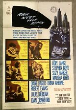 1959 BEST OF EVERYTHING FOREIGN MOVIE THEATRE POSTER NATIONAL SCREEN SERVICE CO