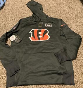 Nike Cincinnati Bengals NFL Football Hoodie Men's  Size: Medium Crucial Catch