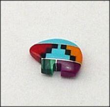 Zuni Inlay Baby Bear Fetish Beads