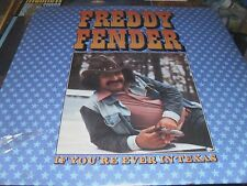 FREDDY FENDER IF YOU'RE EVER IN TEXAS ALBUM 33 RPM